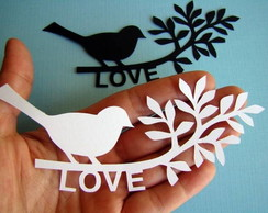 Bird In Love Classic (A19)