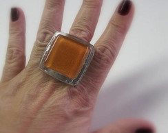 MAXI Anel -Vidro / OVERSIED Glass Ring