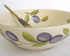 Bowl Black Olives cerâmica