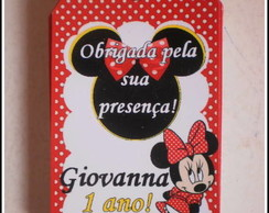 Tags de agradecimento da Minnie