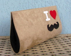Clutch I love Moustache