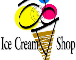 Logotipo Ice Cream Shop