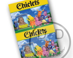 Rótulo Chiclets Backyardigans
