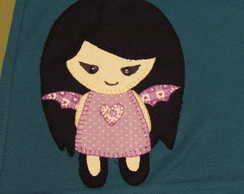 Camiseta em Patchwork Plush Poison