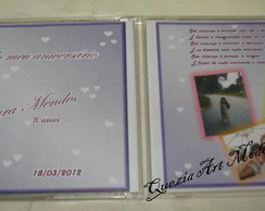 CD personalizado com fotos