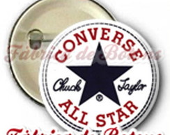 BOTON 2,5cm CONVERSE ALL STAR