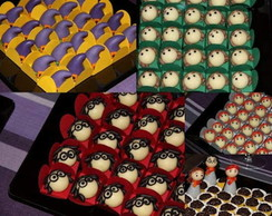 Harry Potter - Doces Modelados