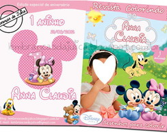 Kit para colorir - Baby Disney