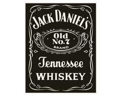 Placa MDF Retrô J.D. Whiskey - 30
