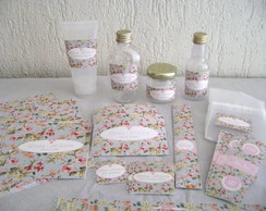 Kit Lavabo: Floral Ipanema