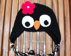 Gorro Pinguim Girl