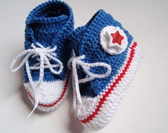 SAPATINHO DE BEBE TENIS ALL STAR