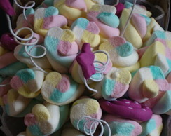 Buquê de marshmallows pink
