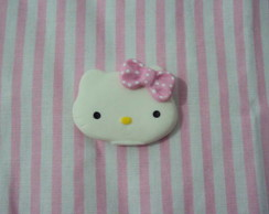 Apliques Hello Kitty de biscuit
