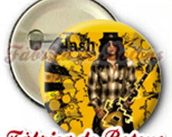 BOTON 2,5cm GUNS N ROSES SLASH
