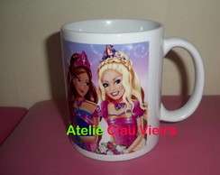CANECA BARBIE CASTELO DE DIAMANTES