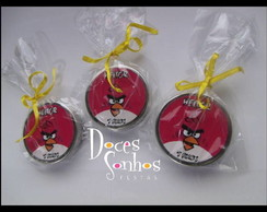 Latinhas mints personalizada Angry Birds