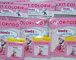 Kit de colorir Angelina Ballerina