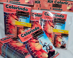 Revista kit de colorir Rei Leão