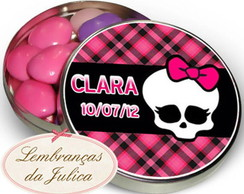 Latinhas personalizadas - Monster High