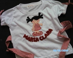 CAMISETA MENININHA FASHION