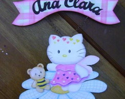 Enfeite de porta da Hello Kitty