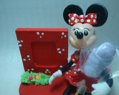 Porta retrato minnie/minnie picture fram