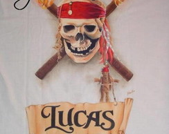 "Camiseta ""Piratas do Caribe"""
