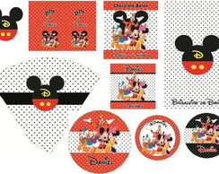 KIT DIGITAL - TURMA DO MICKEY