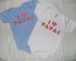 BODY PERSONALIZADO I LOVE PAPAI