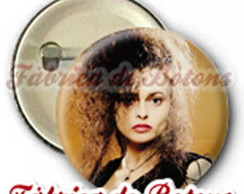 BOTON 2,5cm BELLATRIX HARRY POTTER