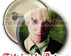 BOTON 2,5cm DRACO MALFOY HARRY POTTER