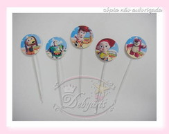 70 TOPPER CUPCAKE TOY STORY personagens