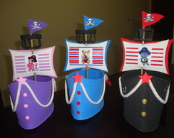 Navios Backyardigans Piratas