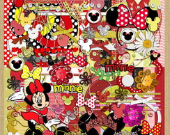 Kit 175 Minnie Vermelha