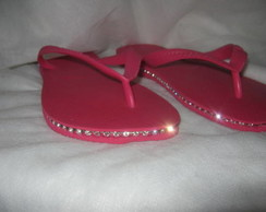 HAVAIANAS TOP CUSTOMIZADA COM STRASS