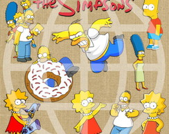 Kit de Cliparts Simpsons