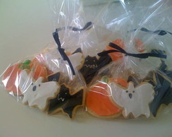 Biscoitos decorados halloween !!
