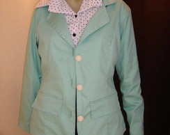 Blazer mint green