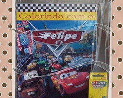 Kit de Colorir Carros