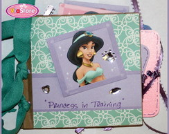 Mini Álbum Scrapbook - Princesas Disney