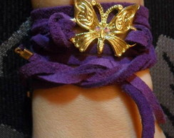 Bracelete Golden Butterfly