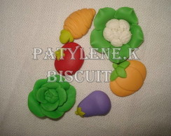 APLIQUE LEGUMES  De Biscuit KIT 1
