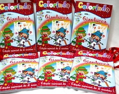 Kit revista de colorir Patati Patatá