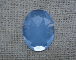 Chaton oval 30 x 40mm - Blue Opal