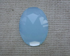 Chaton oval 30 x 40mm - Pacif Opal