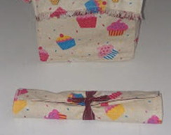 Lunch bag e porta talheres