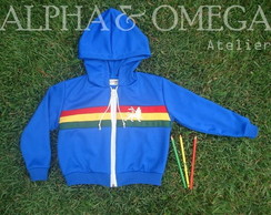 Jaqueta Reggae Roots Inf. AZUL ROYAL
