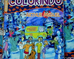 Revista de colorir Scooby Doo