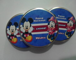 Latinhas mint to be - Mickey e Minnie